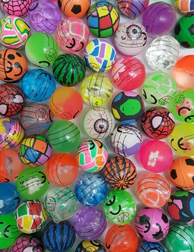 32mm Bouncy Balls x 100 (PREMIUM)