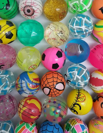 43mm Bouncy Balls x 50 (PREMIUM)