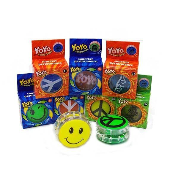 Assorted Yo Yo's (Flashing / Boxed)  x 1