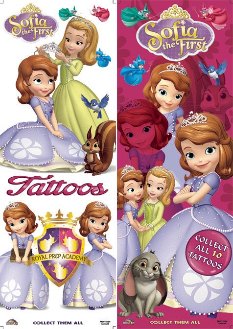 FLATPACK - Sofia the 1st (princess) x 300