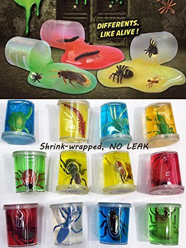 Slime Pots With Bugs x 48